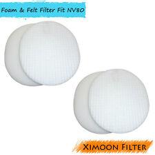 2 Pack Washable Foam & Felt Vacuum Filter for Shark NV70 NV80 NV90 UV420 # XFF80