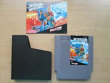 Nintendo NES - Mission Impossible - Manual INCLUDED