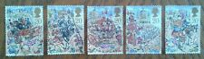 Complete GB used stamp set - 1989 Lord Mayor's Show London