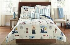Lighthouse Design Kids Bedding Comforter Classic Soft Cozy 6pc set Twin