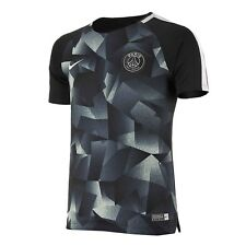 NIKE PSG PARIS SAINT-GERMAIN 2017/ 2018 DRY SQUAD SS YOUTH FOOTBALL TOP SHIRT