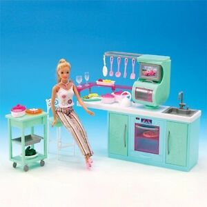 NEW FANCY LIFE DOLL HOUSE FURNITURE Cooking Corner Kitchen Playset(2816)