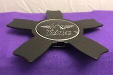 Avarus AV5 by Savini Black Center Cap Set of ONE (1) pn: Cap M-345-2 M-345-1