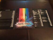Star Trek Original Lot Motion Picture 1991 Anniversary Ds9 Wrath Of Khan Nimoy