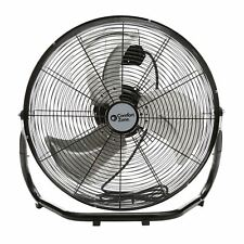 Comfort Zone 18 in. 3-Speed High Velocity Cradle Floor Fan