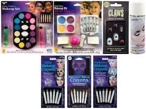 LOT OF 7 - Multi-Brand Halloween Glitter Makeup Fashion Set | Nails | Hair Spray