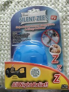 NIP Silent Zee's All Night Relief New Relieve Snoring