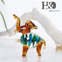 Handmade Lucky Animal Art Glass Blown Fairy Table Miniature Collectible Figurine