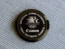 Tappo originale Canon Olimpiadi 1984 x 24/2 35/2 50/1,4 85/1,8 - A1 EF F1 T90