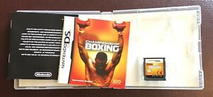 Showtime Boxing NDS 2DS 3DS Nintendo DS Video Game Original UK Release