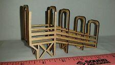 1/64 ERTL farm toy custom wood cattle chute dcp cattle livestock semi loadout