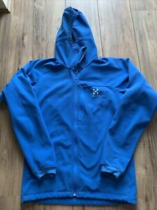 mens haglofs jacket Blue Medium To Large Gecko Adder