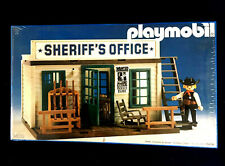 Playmobil 3423 Sheriff's Office - mint in unopened sealed box MISB vintage 1980s