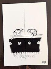 DUBOUT les chats carte postale (D27) état neuf