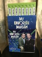 My Favorite Martian 👽 Collector's Edition 32 Episodes 1963-1966 8 VHS Tapes