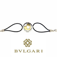 NYJEWEL Bvlgari Bulgari 18K Yellow Gold Steel Tondo Heart Bracelet