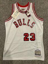 Michael Jordan Authentic Chicago Bulls Rookie Mitchell & Ness 1984-85 M-3XL