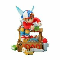 NIB My Little Kitchen Fairies Enesco Little Tool time Fairies #1 Dad #4017379