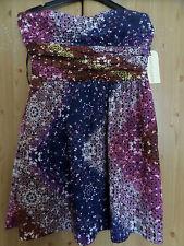 Short dress, new, Gypsy style, colourful pattern, Size M