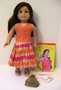 American Girl JESS Doll with Outfit & Book Limited Edition