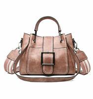 Women Shoulder Bags Vintage Handbag Tote Leather Boho Crossbody Purse Satchel