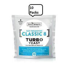 Classic 8 Turbo Yeast 10 pack