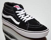 Vans ComfyCush SK8-Mid Unisex Men's Women's Black Skate Lifestyle Sneakers Shoes