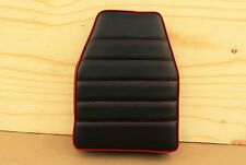 "14"" x 10"" BLACK/RED MINIBIKE SEAT OLD SCHOOL STYLE BOBBER SCOOTER MINI BIKE"