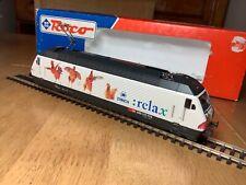 Roco HO Gauge 43757 SBB Re 460 Bo-Bo Electric Locomotive 460 023-5 Relax