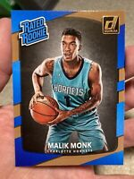 Malik Monk Rookie Card Donruss Rated #190 Hornets RC 2017-18 Invest Now PWE!