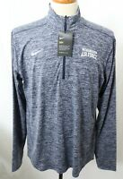 New Nike Dri-Fit Navy United States Air Force 1/4 Zip Pull Over Jacket Men's L