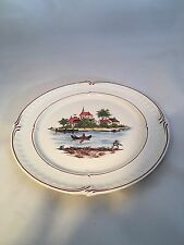 Classic Rose Rosenthal Group Germany Rowing Boat 8 Inches