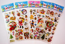 Christmas Santa Stickers, Party Bag, Stocking Fillers, Gifts,Stationary, Crafts