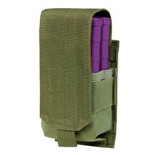 Condor 191088 Tactical Single Double Stack 7.62mm Magazine MOLLE Pouch OD Green