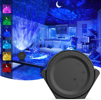 Star Projector, 3-1 Ocean Wave Projector Night Light for Kids with LED   (Black)