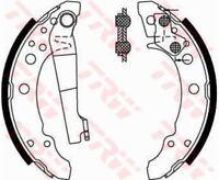 GS8166 TRW Brake Shoe Set Rear Axle