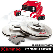 KIT DISCHI PASTIGLIE FRENO FIAT MULTIPLA 1.6 BENZINA NATURAL POWER I° SERIE