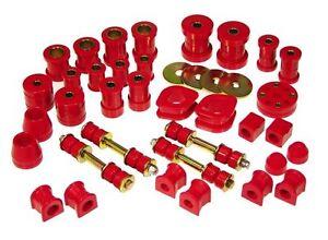 Prothane 74-78 Datsun 260Z & 280Z Total Suspension Bushing Inserts Kit (Red)