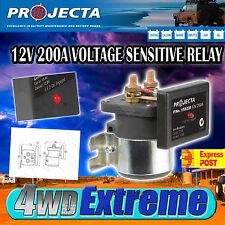 PROJECTA VSR200 12V 200AMP DUAL BATTERY SYSTEM ISOLATOR OVERRIDE FEATURE,12 VOLT