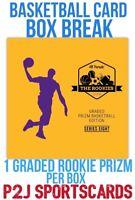 Hit Parade 19/20 Basketball GRADED PRIZM CARD BOX BREAK1 RANDOM TEAM Break 3365