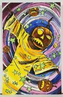 Matthew KIRSCHT Halloween VERTIGE AP/15 Hand Sketch SHIVERBONES Postcard D12