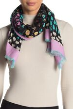 Valentino Abstract Floral Square Shawl