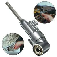105° Angle Silver Extension Hex Drill Bit Screwdriver Socket Holder Adaptor LE