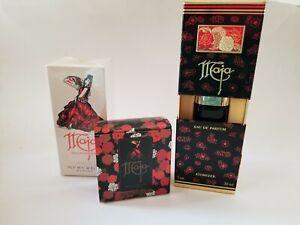 Vintage Lot of 3 Maja Myrurgia EDP Parfum ~ Talcum Powder & Jabon Soap *All New