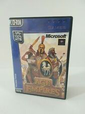 Microsoft Age of Empires PC CD--ROM Dutch release, English Game Win95/98