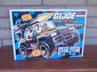 Vintage G.I. JOE Rhino G.P.V. Heavy Duty Ground Vehicle - New Unopened Box/1993