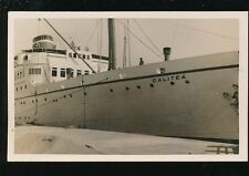 Shipping Italy MV Calitea at Piraeus 1938 sunk 1941 by sub HMS Talisman RP PPC