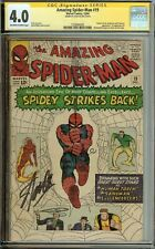 Amazing Spider-Man #19 CGC 4.0 Signed by Stan Lee