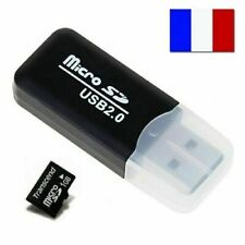 LECTEUR ADAPTATEUR CARTE MEMOIRE MICRO SD SDHC T-FLASH TFLASH CARD READER USB 2