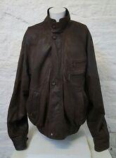 Homme marron cuir véritable helium jacket 2XL 73
